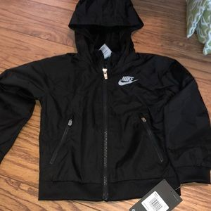 Nike black 3T windbreaker jacket